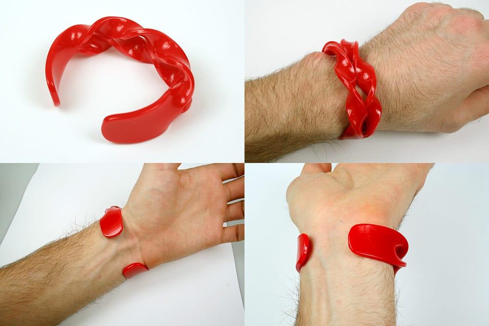 Red Bracelet Wrist Strap