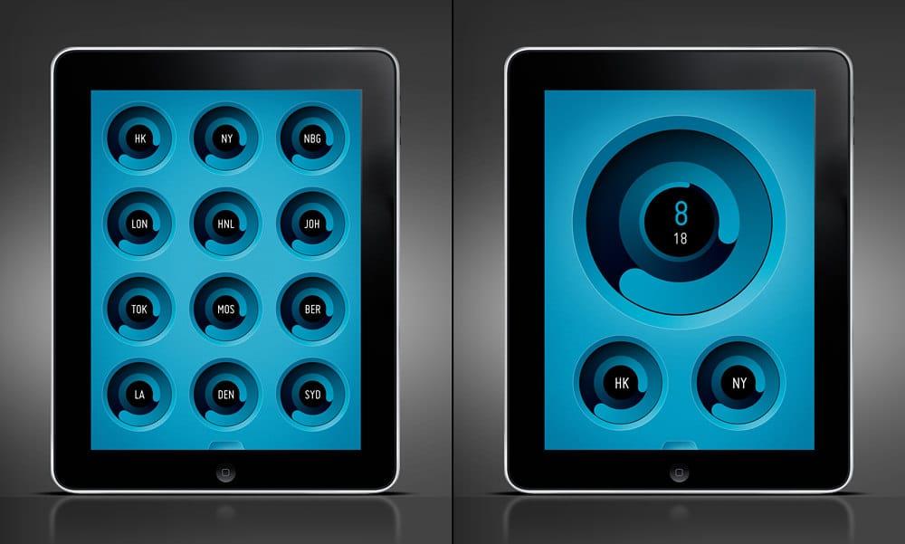 iPad iOS App ZIIIRO Watches
