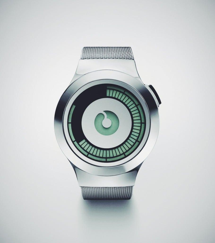ZIIIRO Saturn Silver Electronic Watch