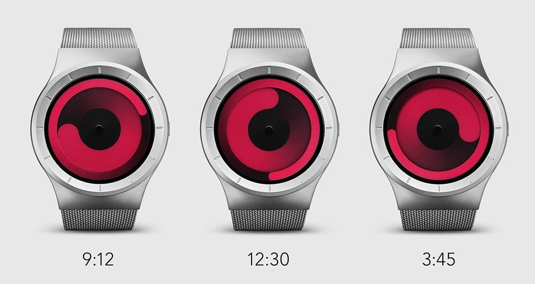 How to Read Time ZIIIRO Mercury Watch