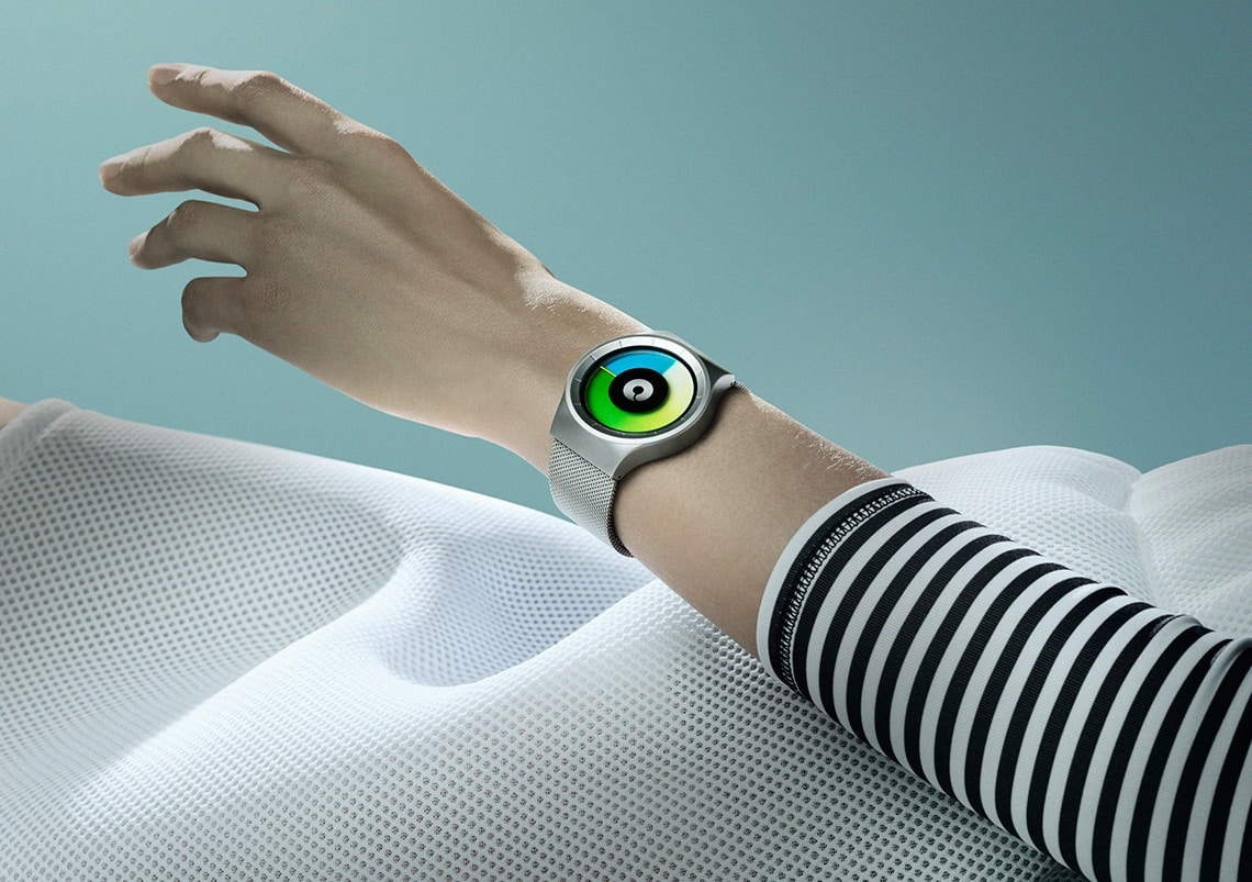 ZIIIRO Celeste Chrome Colored Watch Fashion Outfit Photoshoot