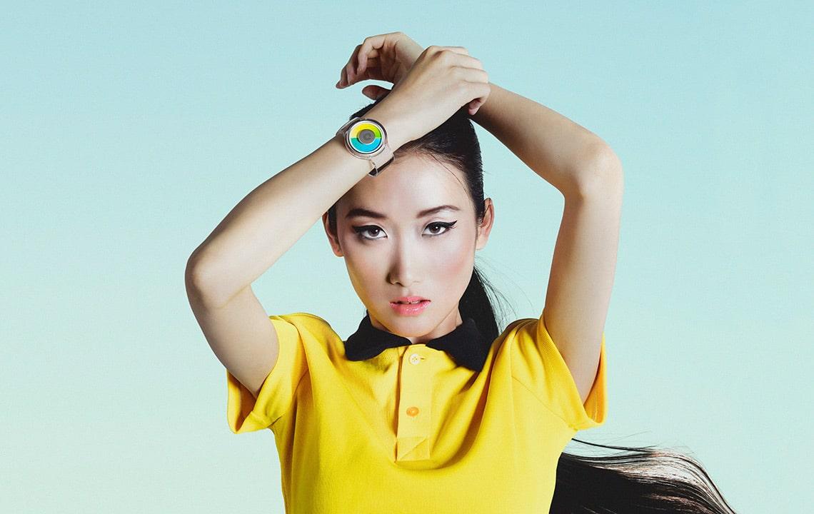 Proton Transparent Watch Fashion Outfit Ladies