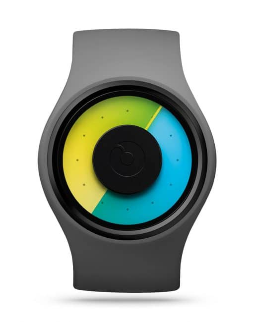 ziiiro-aurora-watch-grey-colored-front