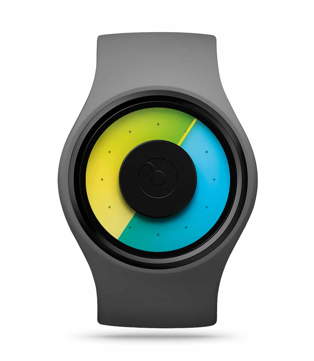 ZIIIRO Aurora Grey Watch Front Interchangeable