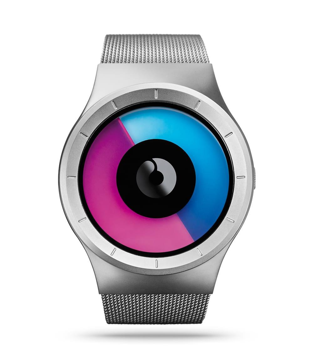 ZIIIRO Celeste Chrome Purple Watch Front