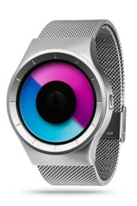 ZIIIRO Celeste Chrome Purple Watch Perspective