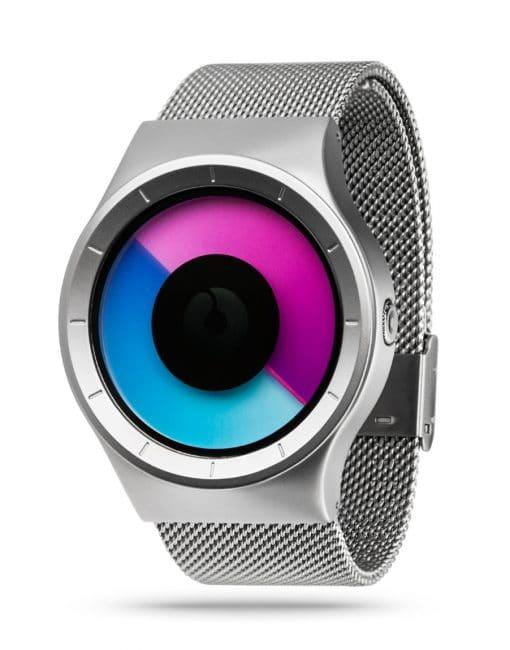 ZIIIRO Celeste Chrome Purple Watch Perspective
