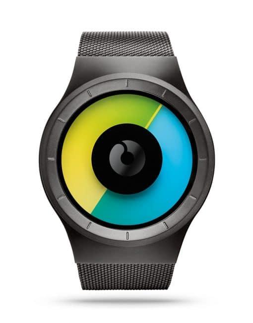 ziiiro-celeste-watch-gunmetal-colored-front