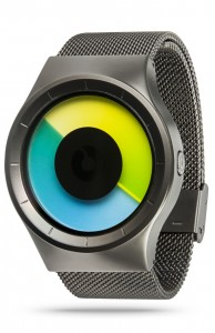 ZIIIRO Celeste Gunmetal Colored Watch Perspective