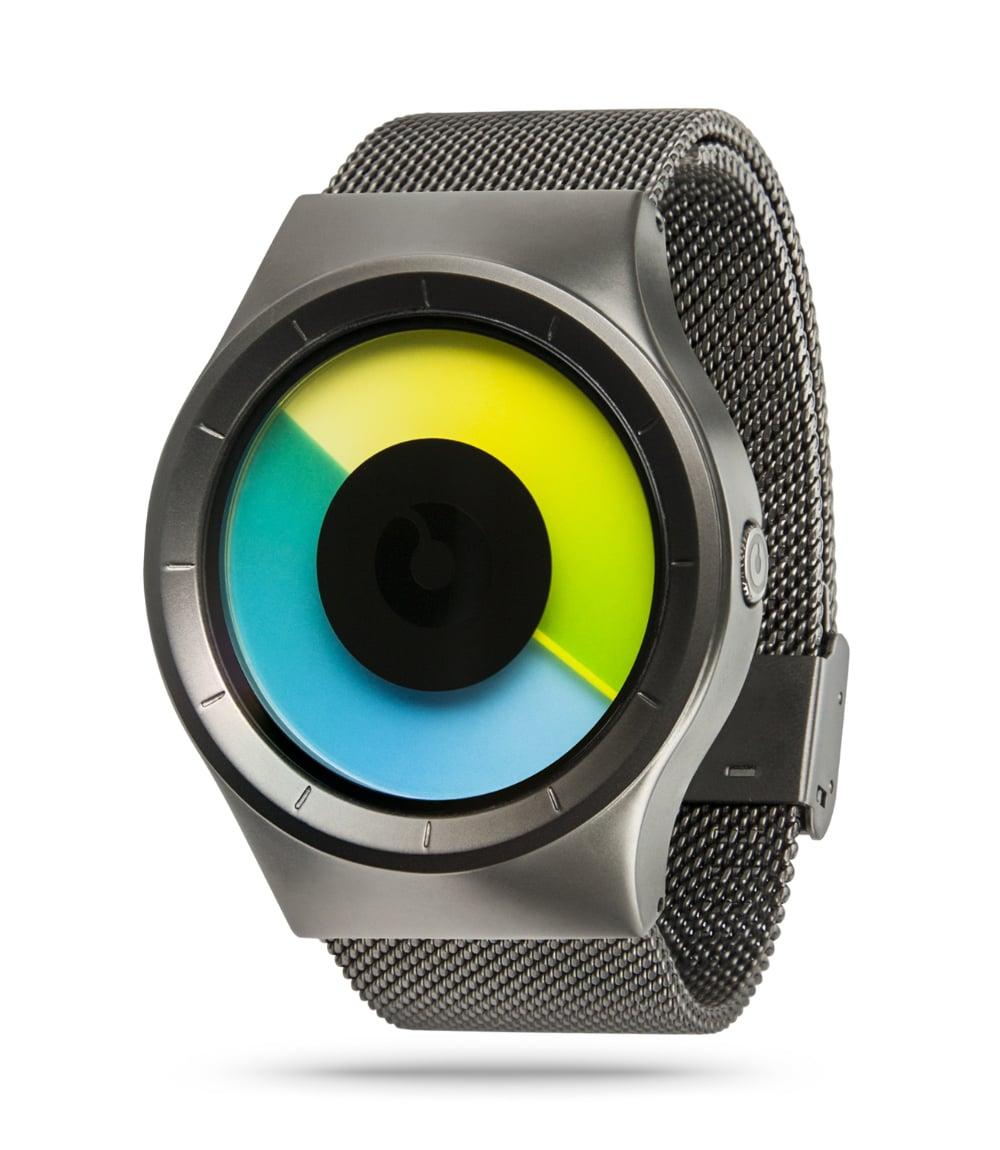 ZIIIRO Celeste Gunmetal Colored Watch Perspective