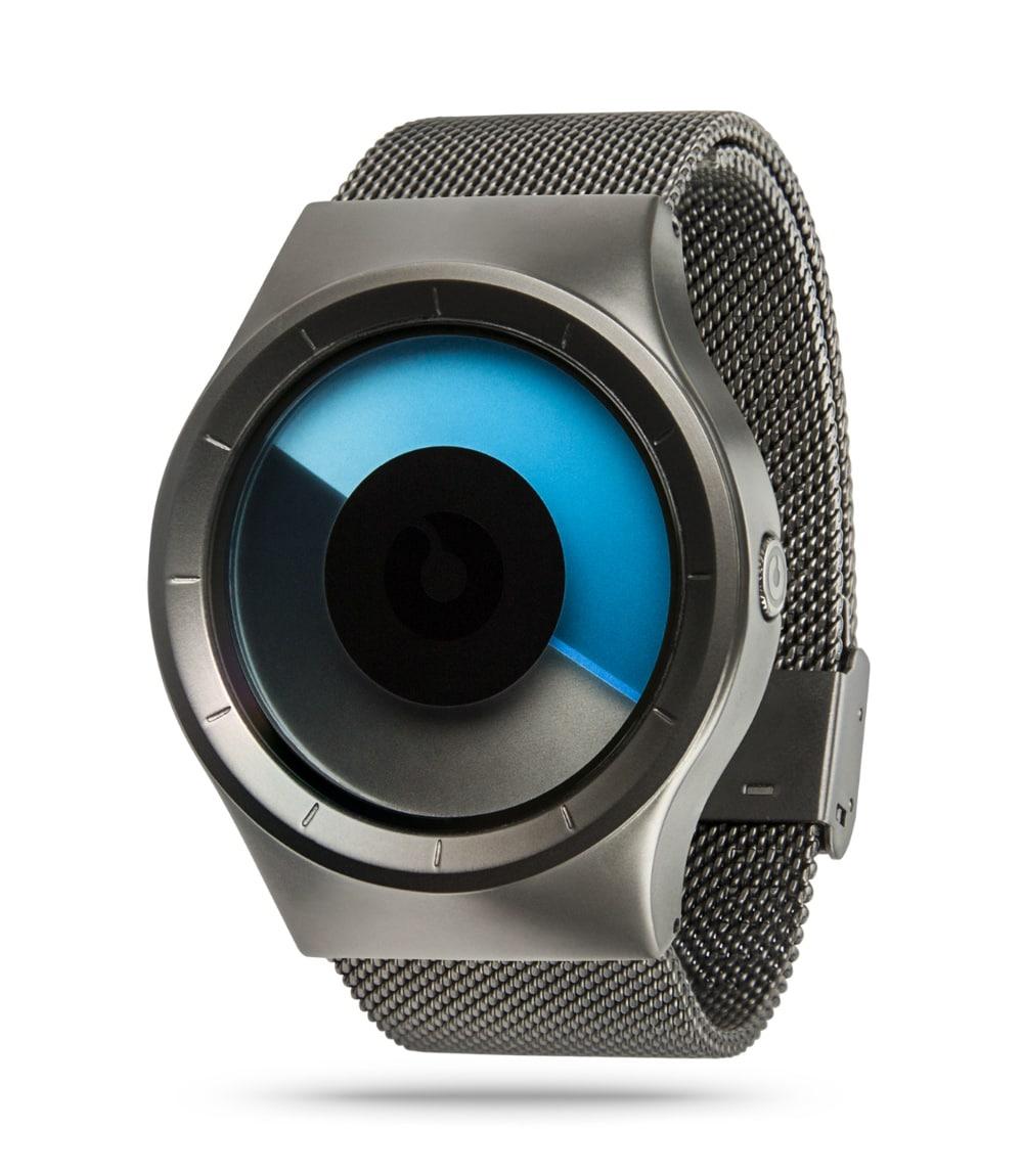 ZIIIRO Celeste Gunmetal Mono Watch Perspective
