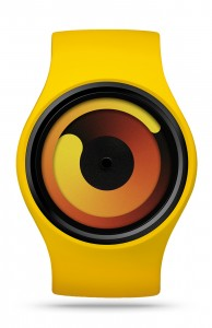 ZIIIRO Gravity Banana Watch Front Interchangeable