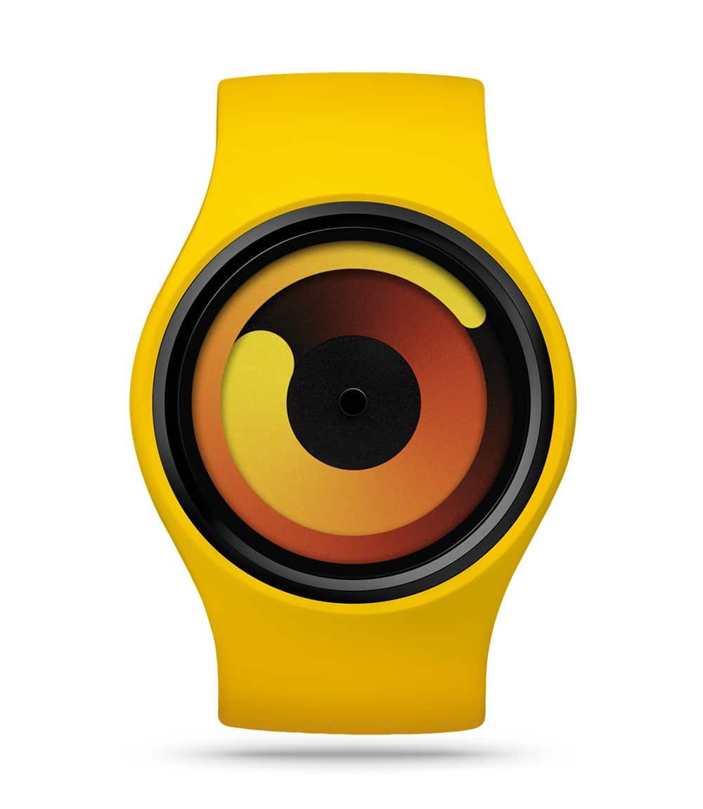 ZIIIRO Gravity Banana Watch Front Interchangeable