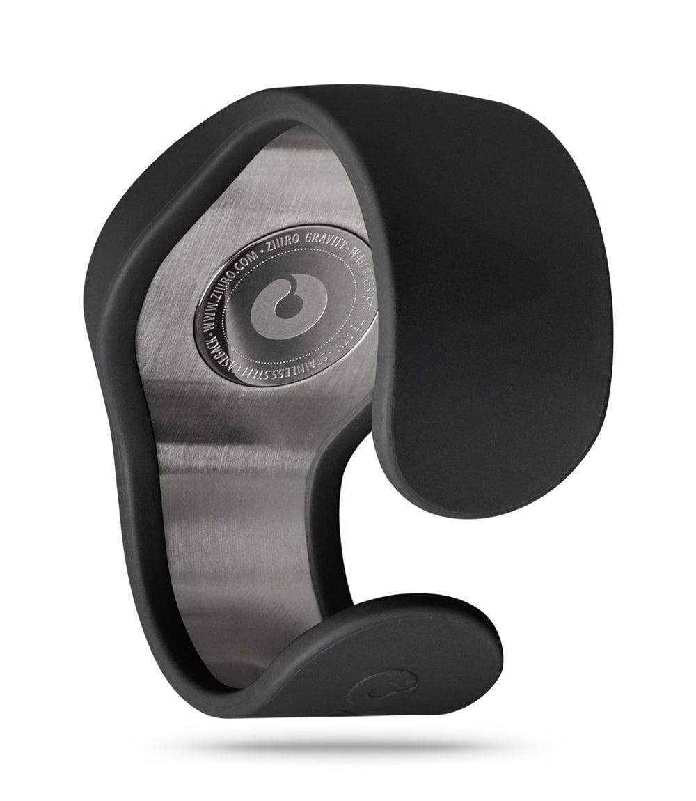 ZIIIRO Gravity Black Watch Back Interchangeable