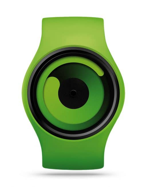 ziiiro-gravity-watch-green-front