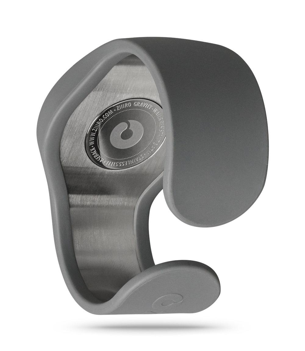 ZIIIRO Gravity Grey Watch Back Interchangeable