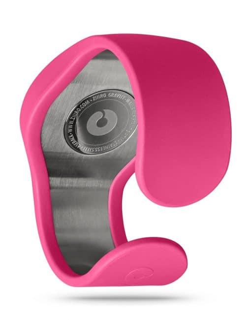 ZIIIRO Gravity Magenta Watch Back Interchangeable