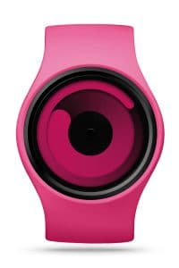 ZIIIRO Gravity Magenta Watch Front Interchangeable