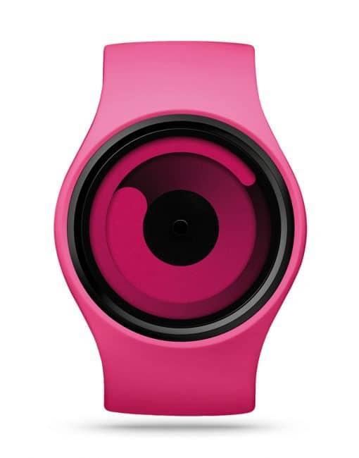 ziiiro-gravity-watch-magenta-front