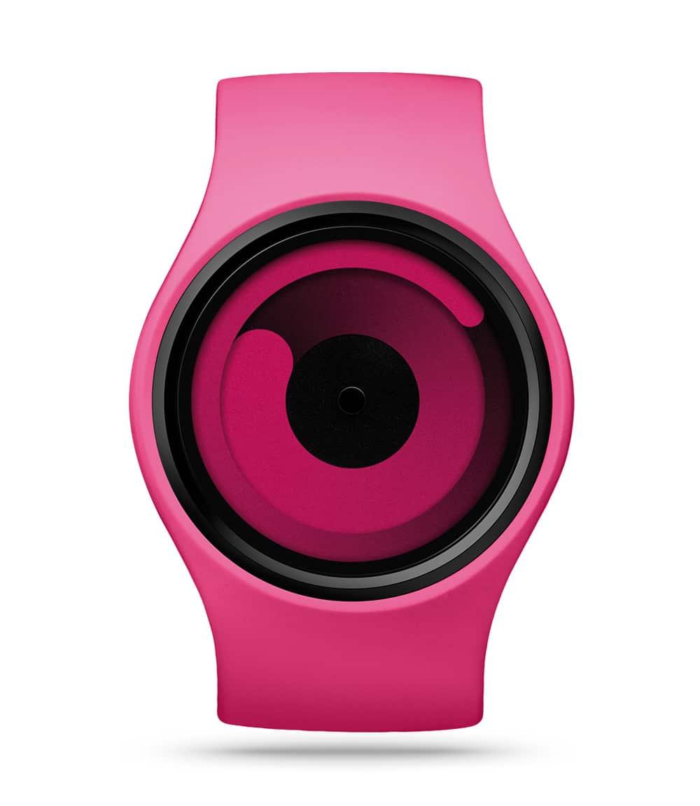 ZIIIRO Gravity Magenta Watch Front Interchangeable