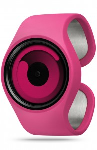 ZIIIRO Gravity Magenta Watch Perspective Interchangeable