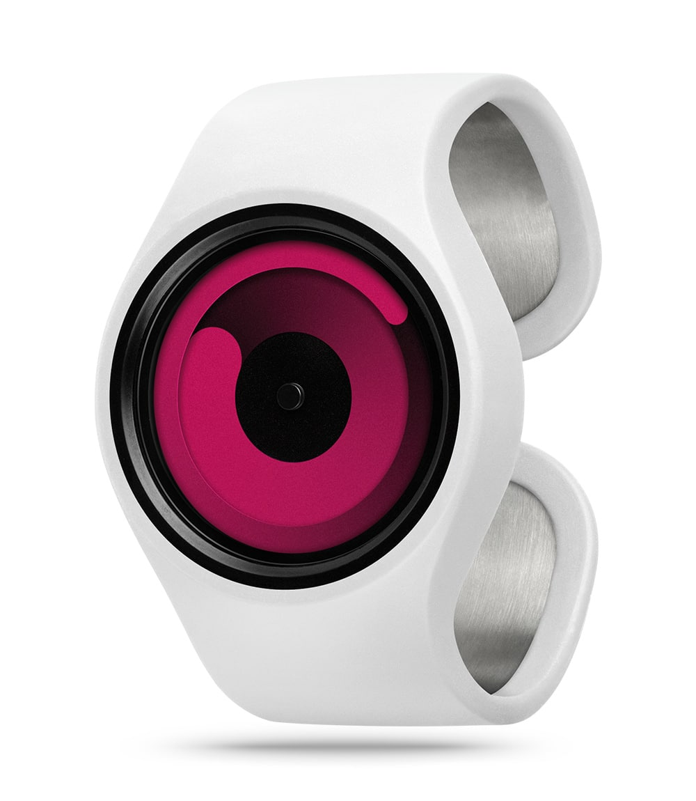 ZIIIRO Gravity Snow Magenta Watch Perspective Interchangeable