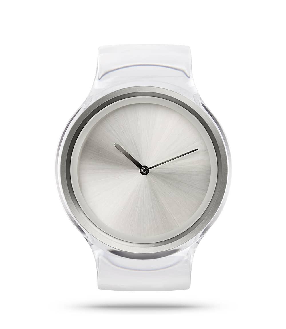 ZIIIRO Ion Transparent Watch Front Interchangeable