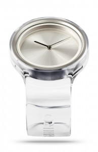 ZIIIRO Ion Transparent Watch Perspective Side Interchangeable