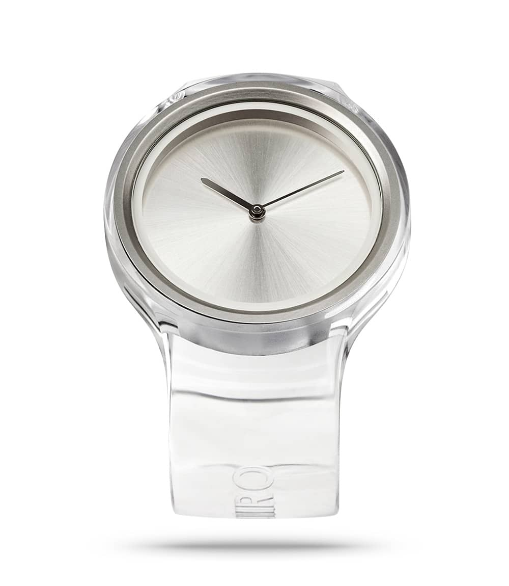 ZIIIRO Ion Transparent Watch Perspective Interchangeable