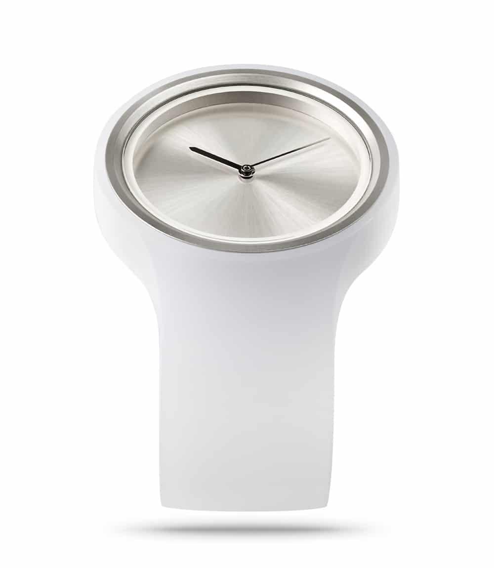 ZIIIRO Ion Milky White Watch Perspective Interchangeable