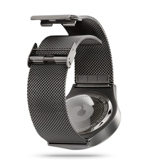 ZIIIRO Mercury & Celeste Gunmetal Watch Back