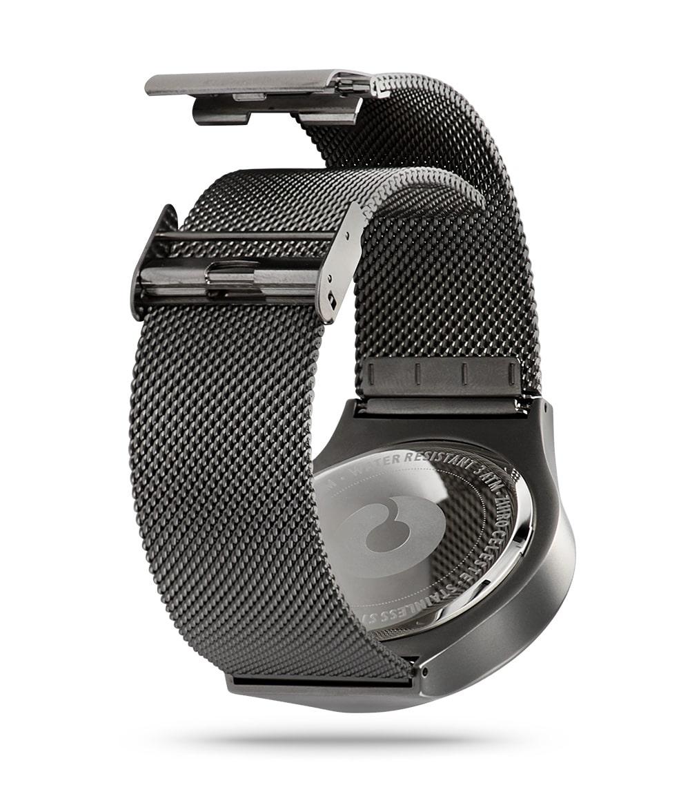 ZIIIRO Mercury & Celeste Gunmetal Watch Back