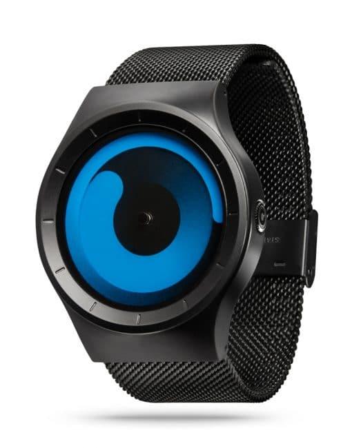 ZIIIRO Mercury Black Ocean Watch Perspective