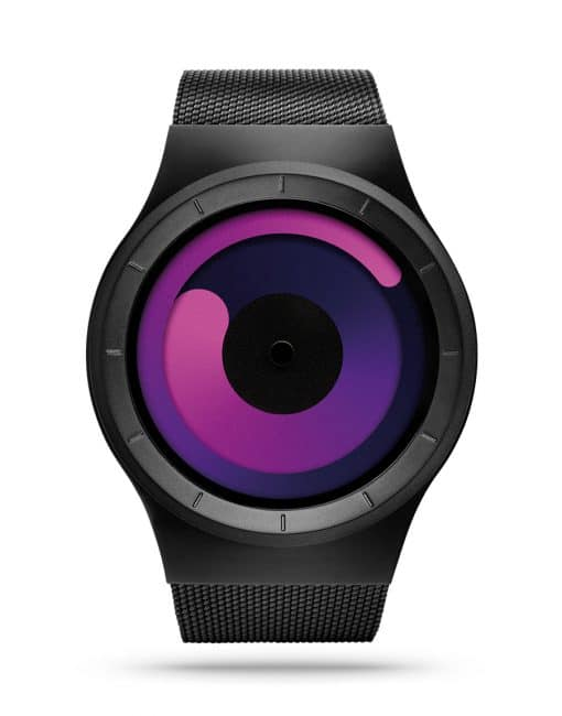 ziiiro-mercury-watch-black-purple-front