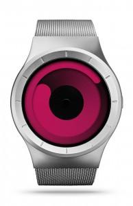 ZIIIRO Mercury Magenta Ocean Watch Front