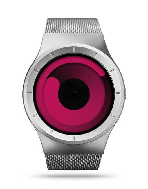 ziiiro-mercury-watch-chrome-magenta-front