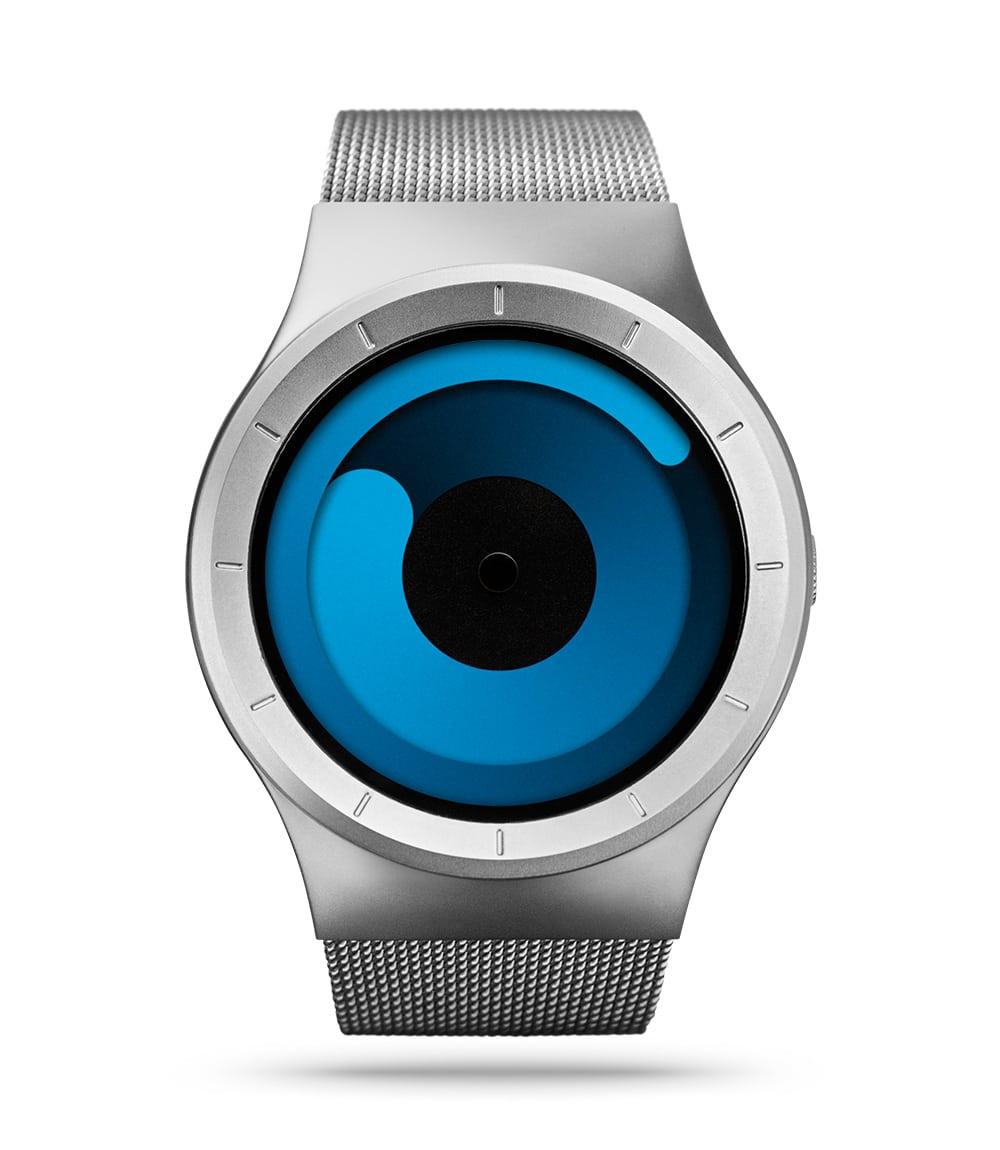 ZIIIRO Mercury Chrome Ocean Watch Front