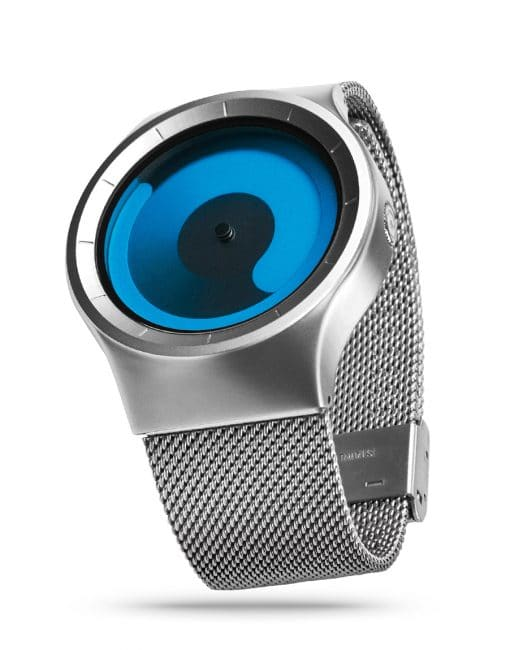 ZIIIRO Mercury Chrome Ocean Watch Side