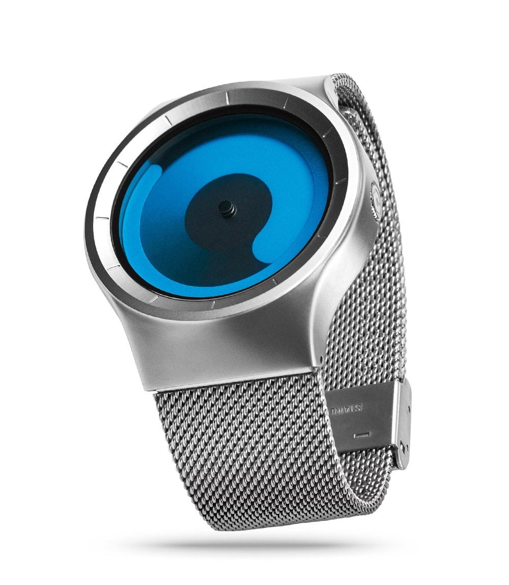 ZIIIRO Mercury Chrome Ocean Watch Side