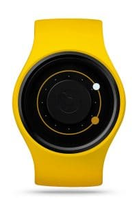 ZIIIRO Orbit Banana Watch Front Interchangeable