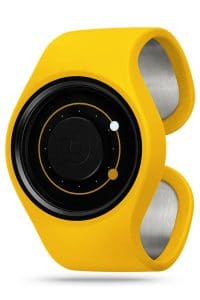 ZIIIRO Orbit Banana Watch Perspective Interchangeable