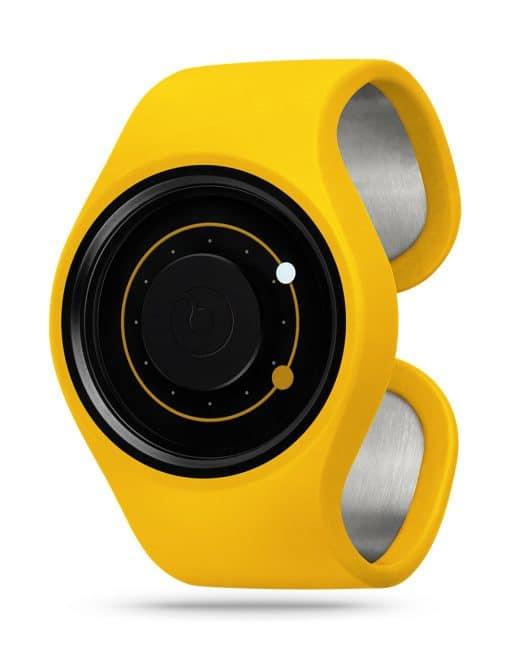 ZIIIRO Orbit Banana Watch Perspective Interchangeable