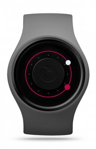 ZIIIRO Orbit Grey Magenta Watch Front Interchangeable