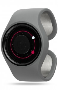 ZIIIRO Orbit Grey Magenta Watch Perspective Interchangeable