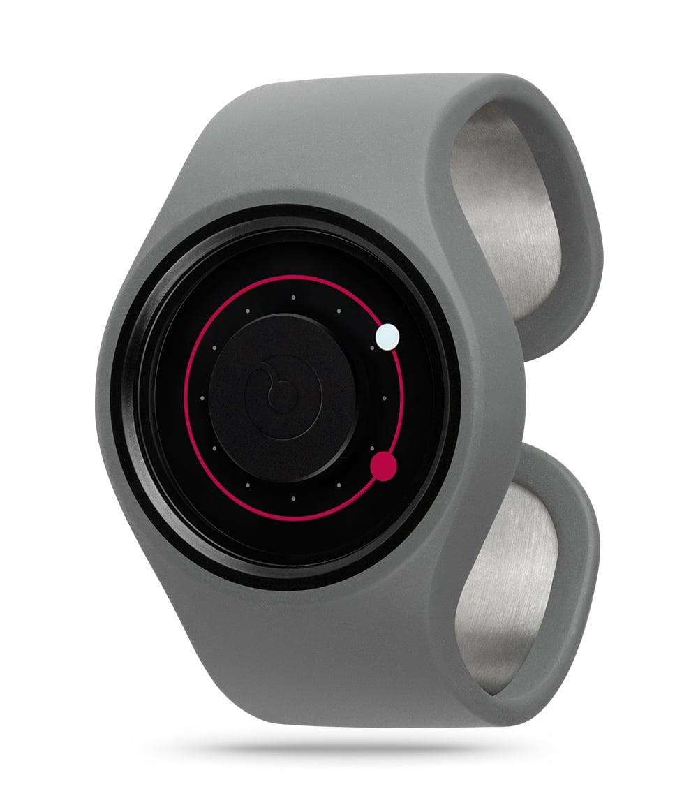 ZIIIRO Orbit Grey Magenta Watch Perspective Interchangeable