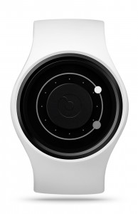 ZIIIRO Orbit Snow Grey Watch Front Interchangeable