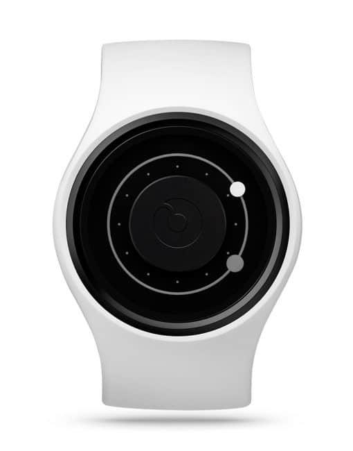 ziiiro-orbit-watch-snow-white-front
