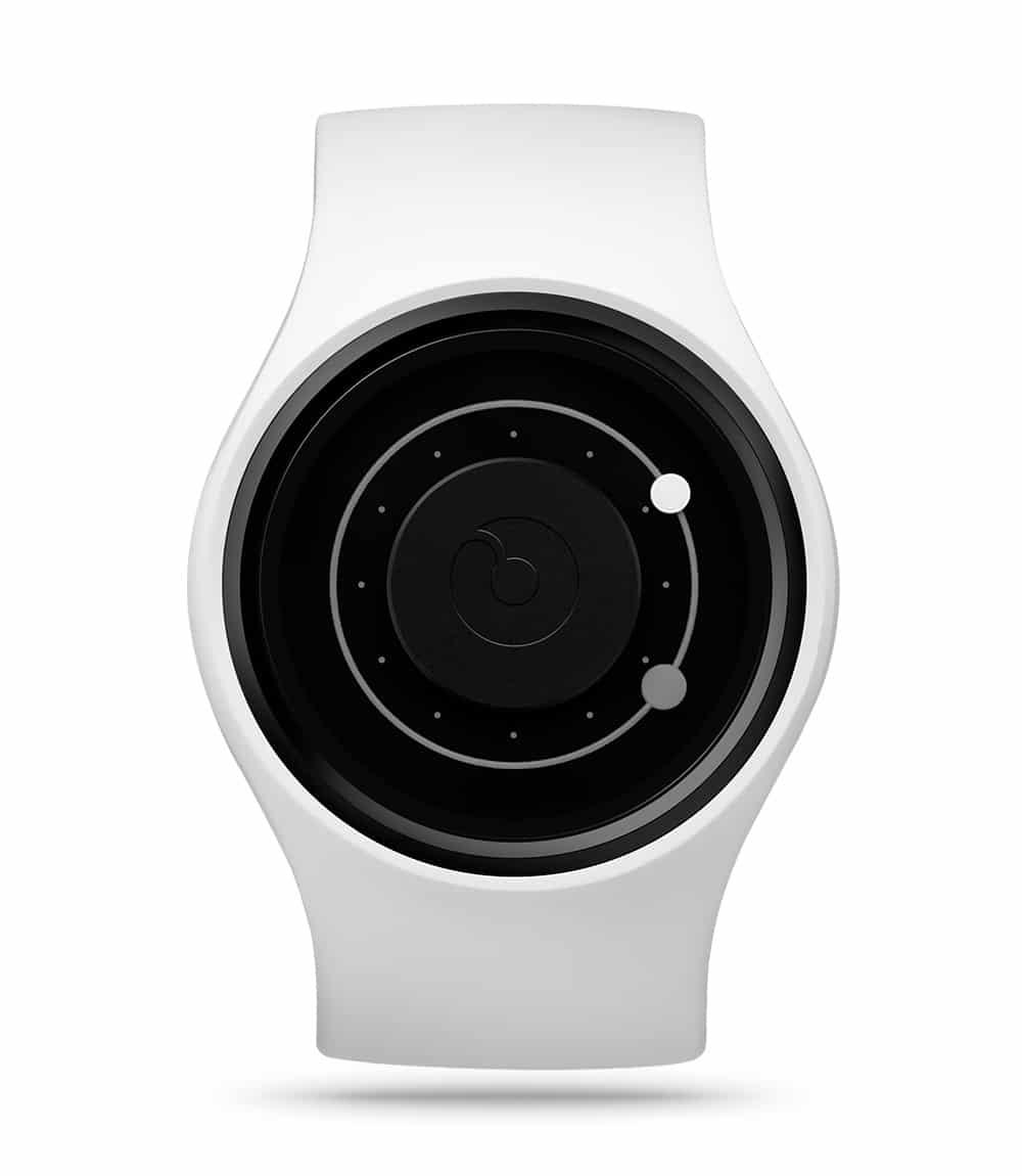 ZIIIRO Orbit Snow Grey Watch Front Interchangeable