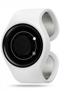 ZIIIRO Orbit Snow Grey Watch Perspective Interchangeable
