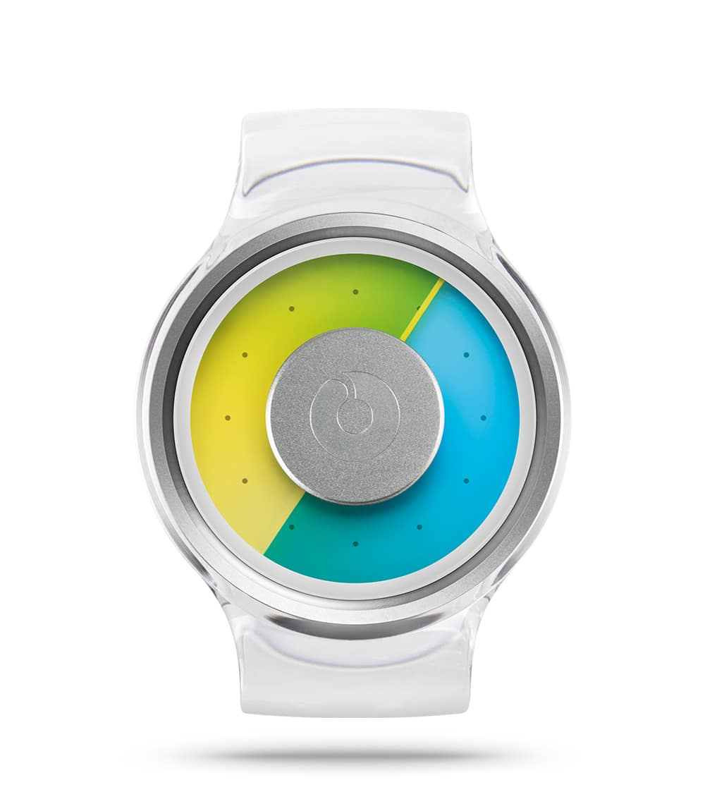 ZIIIRO Proton Transparent Watch Front Interchangeable